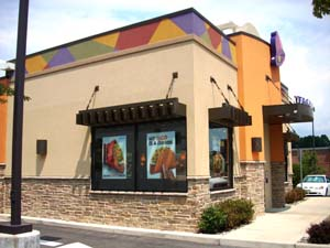Taco Bell exterior building
