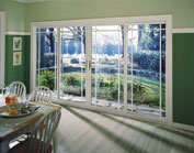 dinning room glass doors