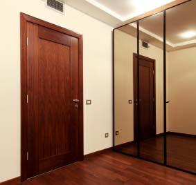 Room With Mirror Closet Sliding Doors Custom ...