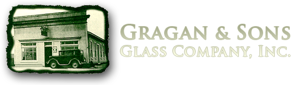Gragan & Sons Glass Logo